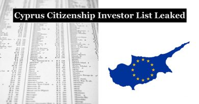 List of Cyprus CIP Citizens Leaked: Soros-backed Foundation Funded the Articles