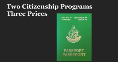 Why Does Vanuatu Have Several CIPs? And What do They Really Cost?