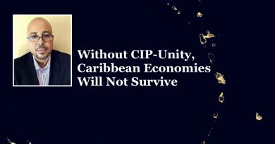 Apex' Kenny Green: Without CIP-Unity, Caribbean Economies Will Not Survive