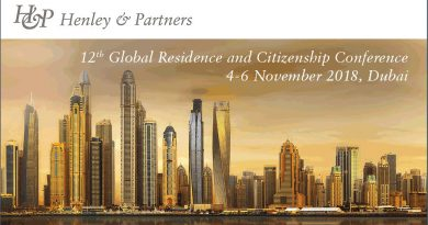 25% Discount on Tickets to Attend the 12th Global Residence and Citizenship Conference in Dubai