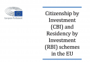 European Parliament Publishes Report on RCBI-Programs