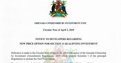 Developers Promoting Grenada's New Price Option Without Prior Approval Subject to Penalties, CIU Warns