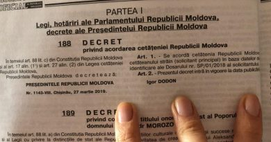 Moldova Has Granted First Citizenship by Investment, Gazetted Presidential Decree Shows