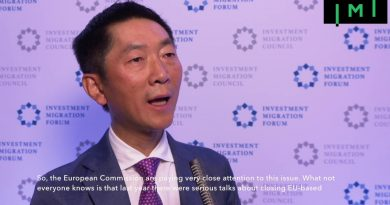 "David Chen Says IMC's Work is ""Extremely Important"" and Hopes More Chinese Firms Join"