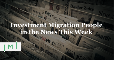 "Investment Migration People in the News This Week: ""Many Worry About Citizenship-Based Tax"""