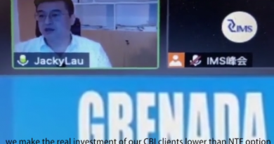 Grenada CIP Developer Caught on Camera Promoting Illegal Discounts: CIU Investigating